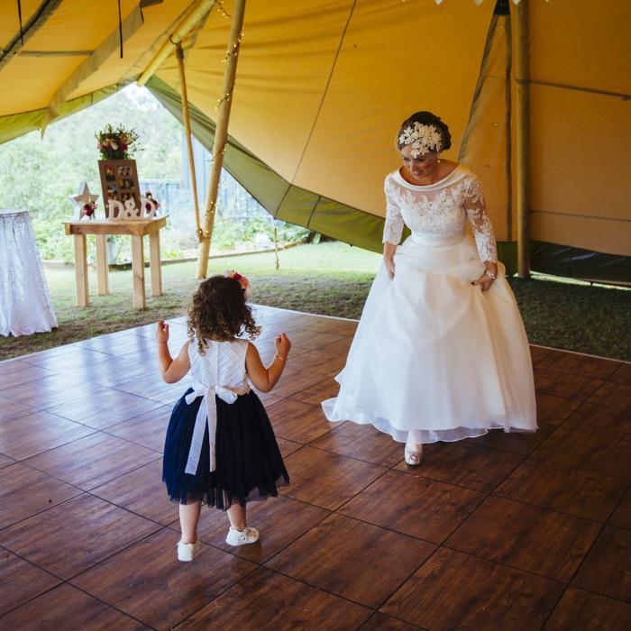 dance floor, wedding, tipi, marquee hire, gold coast wedding