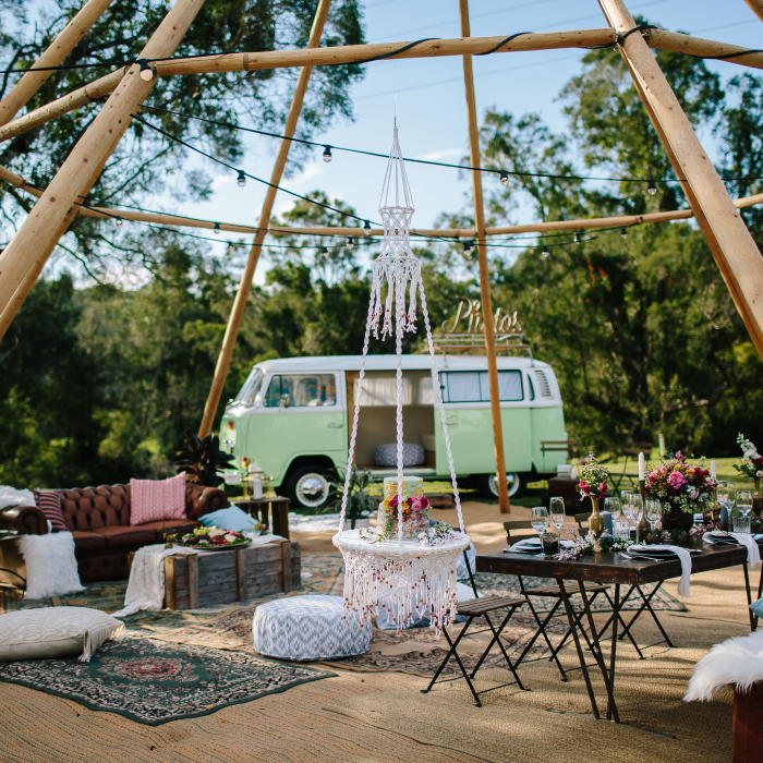 riverwood shoot, gold coast tipis, gold coast wedding, marquee hire