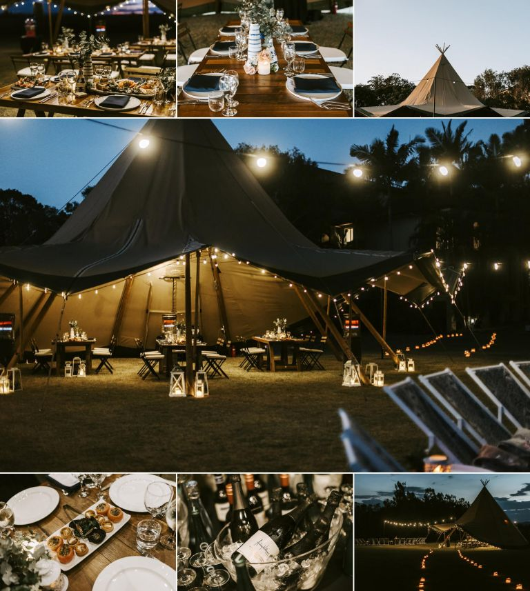 Corporate Event Tipi Hire