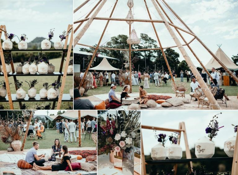 Ardeena Tipi Wedding