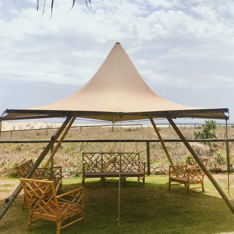 small canopy tipi hire